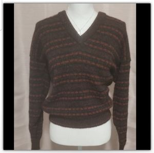 💎Lands' End 100% wool sweater  size small